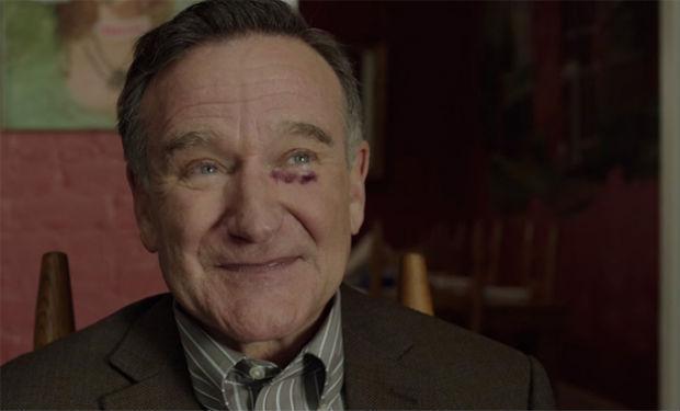 Robin Williams em cena de