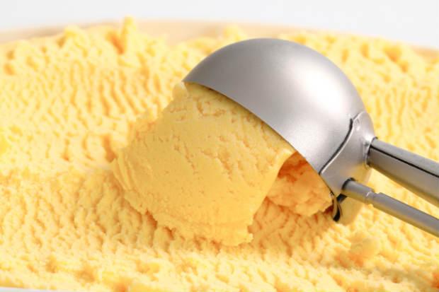 Sorvete de milho da FriSabor. Foto: FriSabor/ Divulgação