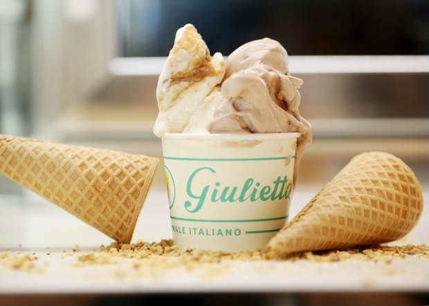 O preço dos sorvetes vai de R$ 9 a R$ 14 (três sabores). Foto: Paloma Amorim/ Divulgação