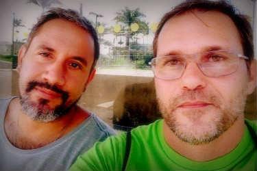 Cristiano e Miguel. Foto: Reprodução/Facebook