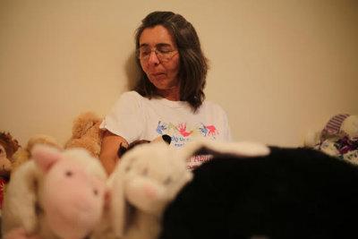 Karla Janine nos Estados Unidos, onde a pernambucana luta para reaver a guarda da filha amy, de 7 anos. Foto: Isly Viana/TV Clube