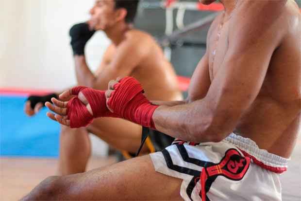 Torneiro mais recente, a 3ª edição do Recife Combat Muay Thai, aconteceu no último sábado, na academia MXA, em Boa Viagem. Foto:  Brenda Alcantara/Esp DP/D.A Pres