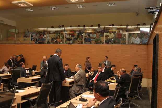 Recesso legislativo começa nesta semana, o que pode atrasar liberação de verbas. Foto: Nando Chiappetta/DP/D.A. Press