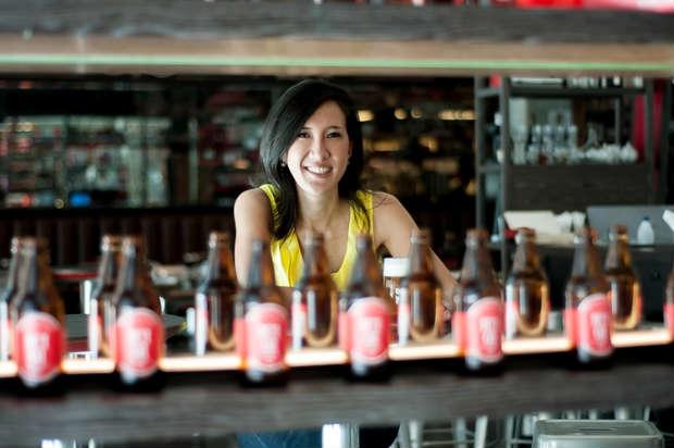 Carolina Oda é especialista em cervejas. Voz Comunicação/ Divulgação