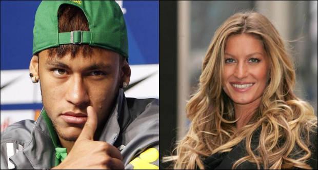 Na lista, a modelo Gisele Bündchen, em 46º lugar, com ganhos de US$ 44 milhões, e o jogador de futebol Neymar, na 82ª colocação, que recebe US$ 31 milhões. Montagem: CB/Reprodução