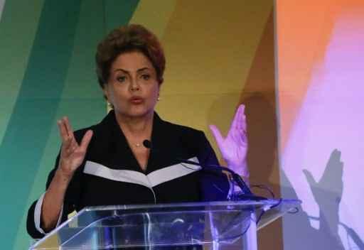 A presidente Dilma Rousseff, em Nova York, no dia 29 de junho de 2015. Foto: KENA BETANCUR/ AFP