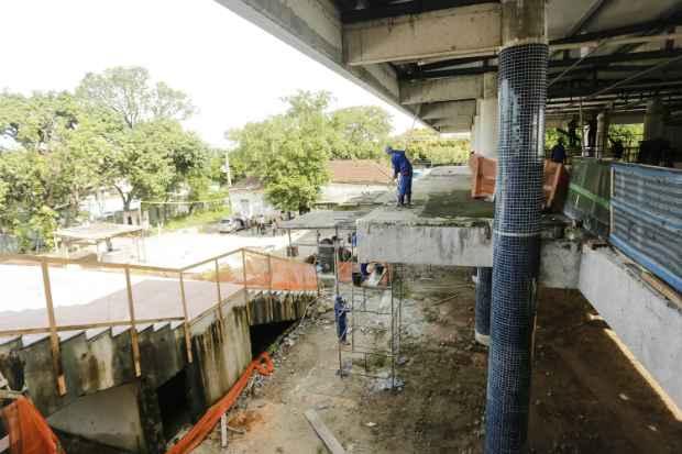 Obras atrasadas devem ficar prontas até o início do próximo ano. Foto: Andrea Rego Barros/PCR/Divulgação