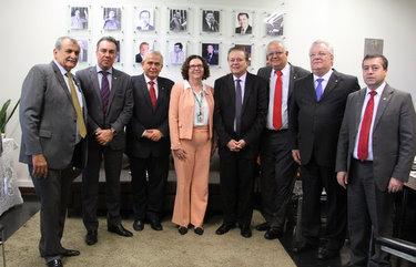 Deputado do PTB participou de reunião em Brasília. Foto: PTB/Divulgação