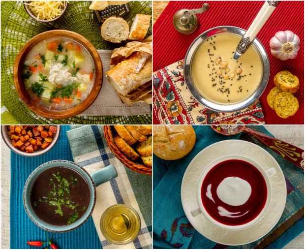 Os sabores, texturas e acompanhamentos variam. Fotos: Polen Livros/Divulgação