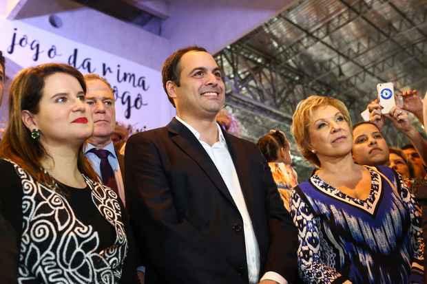 Governador recebe socialistas de outros estados e apresenta a Fenearte, em Olinda. Foto: Wagner Ramos/SEI