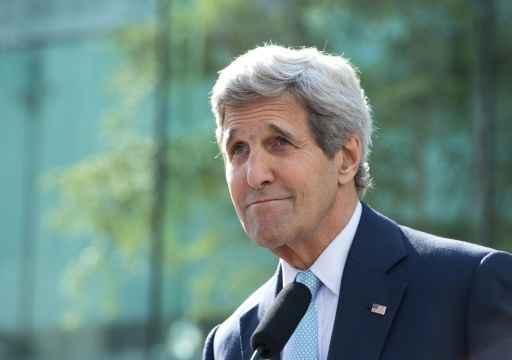 O secretário de Estado americano, John Kerry, em Viena, no dia 5 de julho de 2015 Foto: Joe Klamar/ AFP