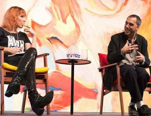 Karina e Arnaldo vão lançar livros na festa literária. Foto: Walter Craveiro/Divulgação
