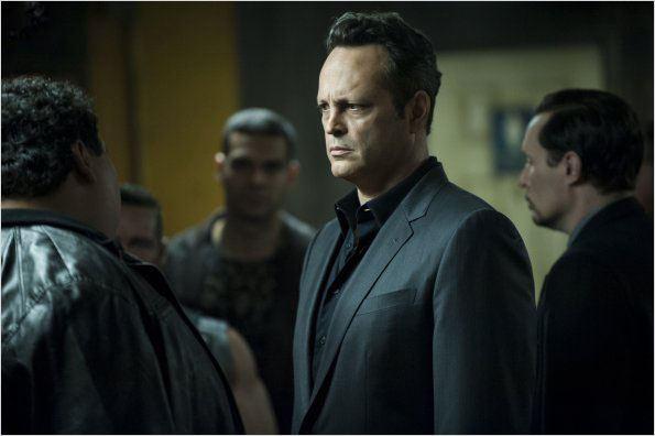 Vince Vaughn é um dos protagonistas no seriado de sucesso da HBO True detective, no qual interpreta um criminoso. Foto: HBO /Divulgação