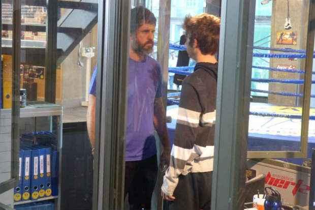 Gael defende a filha ao conversar com João. Foto: Bel Bonotto/Gshow/Reprodução