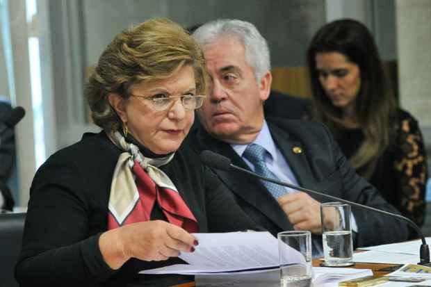 Relatora do PLS 198/2014 Lúcia Vânia. (Geraldo Magela/Agência Senado)