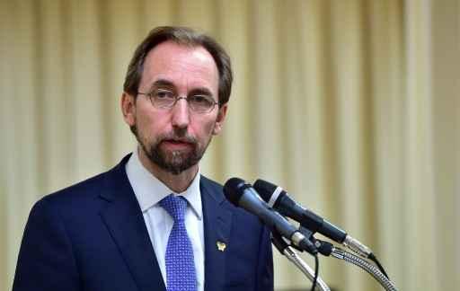 O alto comissário da ONU para os Direitos Humanos, Zeid al-Hussein. Foto: Jung Yeon-Je/ AFP