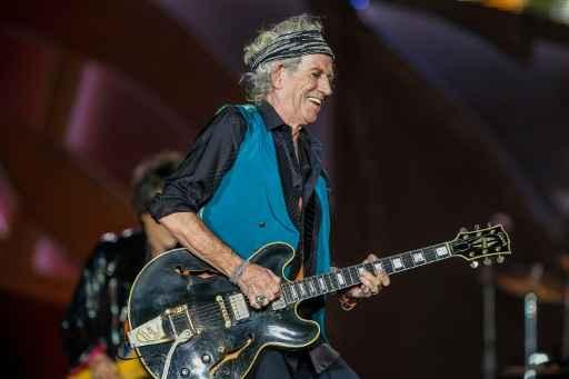 Keith Richards lança seu primeiro álbum solo em 23 anos. Foto: Arquivos Michael Hickey /AFP Photo