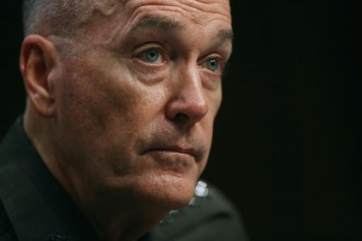 O futuro chefe do Estado-Maior das Forças Armadas, o general Joseph Dunford, em Washington, DC, no dia 9 de julho de 2015. Foto: Chip Somodevilla /GETTY IMAGES NORTH AMERICA/AFP
