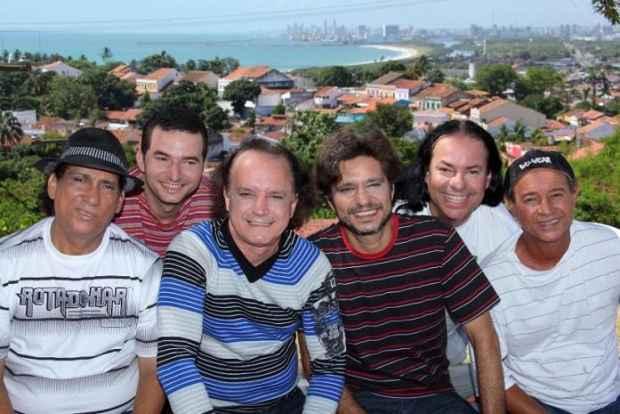 A banda foi formada em 1975, em Casa Amarela. Foto: Som da Terra/Divulgação