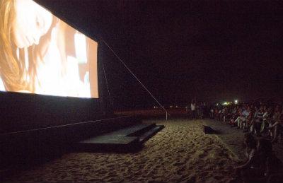 Segunda Mostra de Cinema Gostoso ocorreu em São Miguel do Gostoso, no Rio Grande do Norte. Foto: Aline Arruda/Divulgação