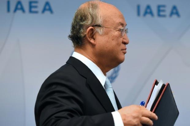 O diretor geral da AIEA, Yukiya Amano. Foto: Joe Klamar/AFP/Arquivos