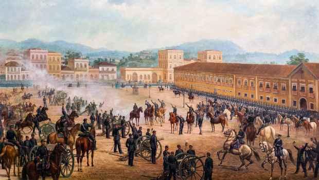 Financiamento será para obras cujo período retratado seja posterior à Proclamação da República, no ano de 1889. Wikimedia/reprodução