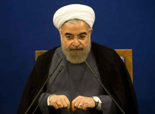 O presidente do Irã, Hassan Rouhani. Foto:Reprodução/ BEHROUZ MEHRI/ AFP