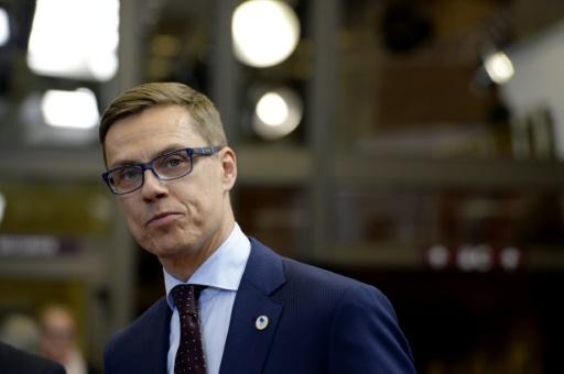 O ministro Alexander Stubb. Foto: THIERRY CHARLIER/ Arquivo/ AFP