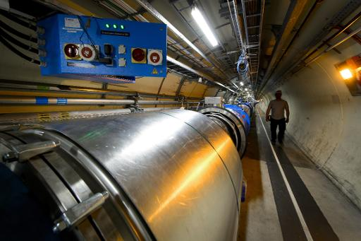 O Grande Colisor de Hádrons (LHC), no Cern, em Meyrin, Suíça. Foto: Fabrice Coffrini/AFP