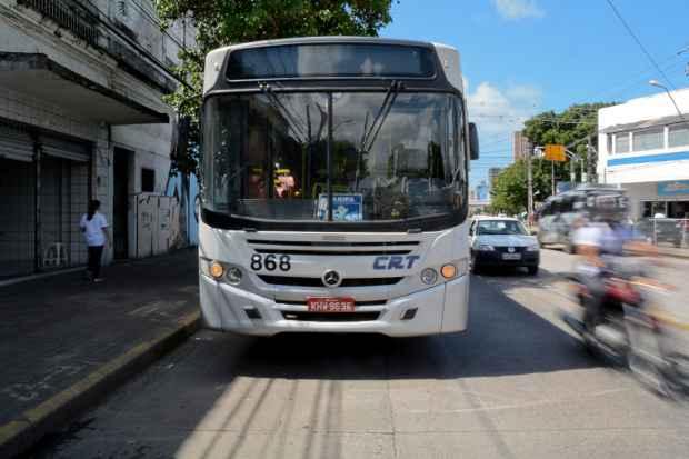 Metade da frota circulou ontem na Região Metropolitana. Foto: Guilherme Verissimo/Esp DP/DA Press