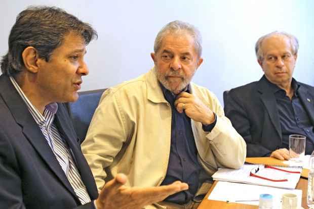 Ex-presidente participou de uma reunião reservada com lideranças do PT. Foto: Heinrich Aikawa/Instituto Lula/Arquivo