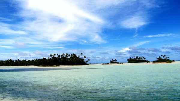 Kiribati é um paraíso do Oceano Pacífico. Foto: Reprodução