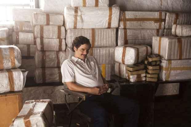 Wagner Moura é Pablo Escobar na série
