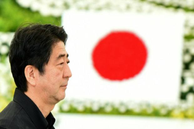 O premier japonês, Shinzo Abe. Foto: AFP/TORU YAMANAKA