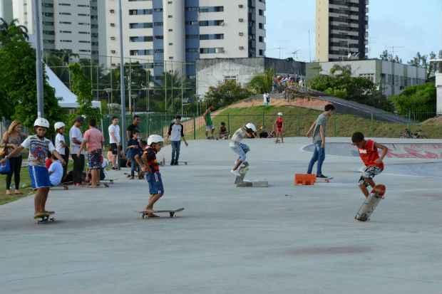 Público infantojuvenil tem programação gratuita no Parque de Santana, Zona Norte do Recife. Foto: Inaldo Lins/PCR/Divulgação