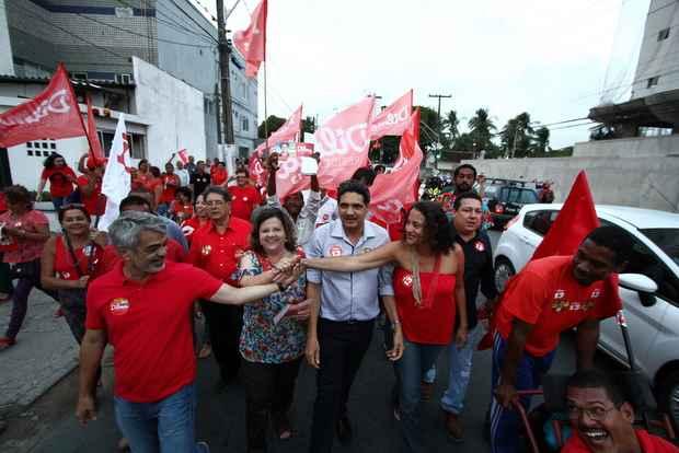 Aliança entre comunistas e petistas pode chegar ao fim. Foto: Paulo Paiva/DP/D.A. Press
