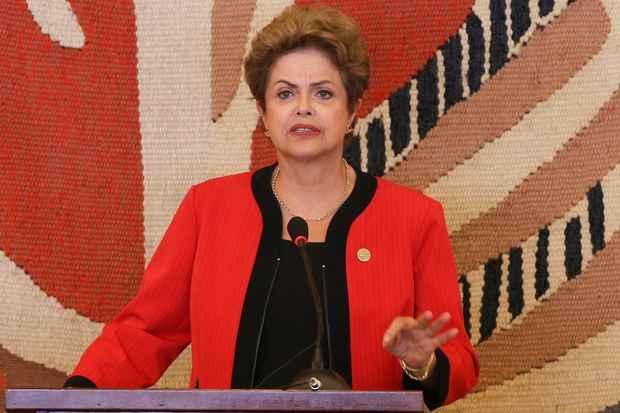 Dilma faz a primeira reunião após o presidente da Câmara declarar que é da oposição. Foto: Lula Marques/Divulgação