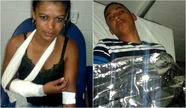 Janaína Mendes da Silva e José Carlos Firmino não correm risco de morte. Foto: TV Clube/Record/Reprodução