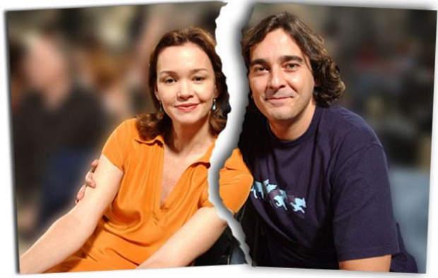 Júlia e Alexandre se separaram de forma amigável. Foto: João Miguel Júnior/ TV Globo/ Divulgação