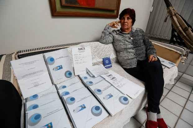 maria Lúcia ensinou na faculdade, mas questionou a carga horária e foi demitida. Ela denunciou a irregularidade ao MPF. Foto: Rafael Martins/Esp DP/D.A.Press