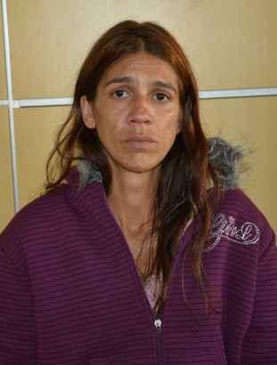 A suspeita desembarcou de São Paulo usando roupas de frio e mostrou nervosismo durante o depoimento. FOTO: Polícia Federal/Divulgação