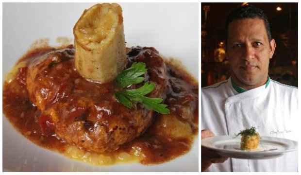Chambaril vegetariano é uma das estrelas do jantar de Claudemir Barros