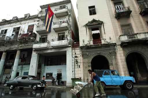 Vista de uma rua de Havana. Foto:Rodrigo Arangua/ Arquivo/ AFP