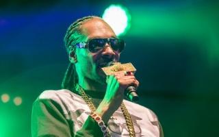 O rapper norte-americano Snoop Dog se apresenta na Suécia, no dia 25 de julho de 2015 © TT NEWSAGENCY/AFP/Arquivos Marcus Ericsson