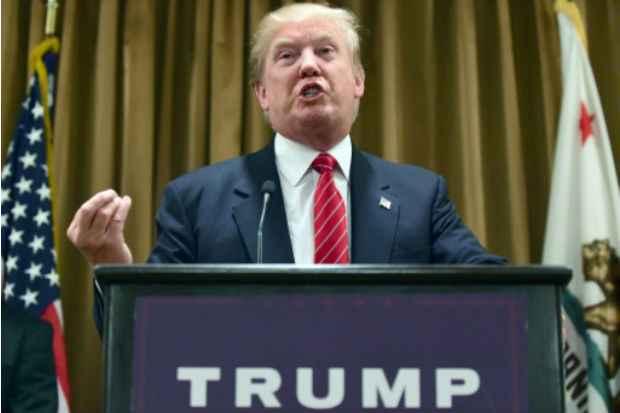 Donald Trump, pré-candidato republicano à Casa Branca, alimentou suspense sobre a divulgação de sua declaração de renda. Foto: AFP/Arquivos Frederic J. Brown