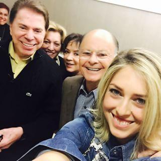 A filha do bispo, Cristiane Cardoso, publicou foto do encontro no Instagram. Foto: Instagram/Reprodução