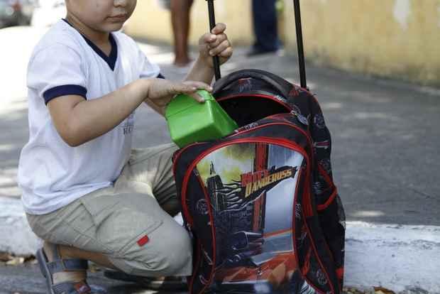 Escolas públicas estão buscando alternativas para refeições mais baratas. Foto: Bruna Monteiro/DP/D.A. Press