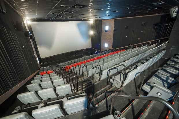 Quatro salas contarão com equipamento 3D. Foto: Divulgação