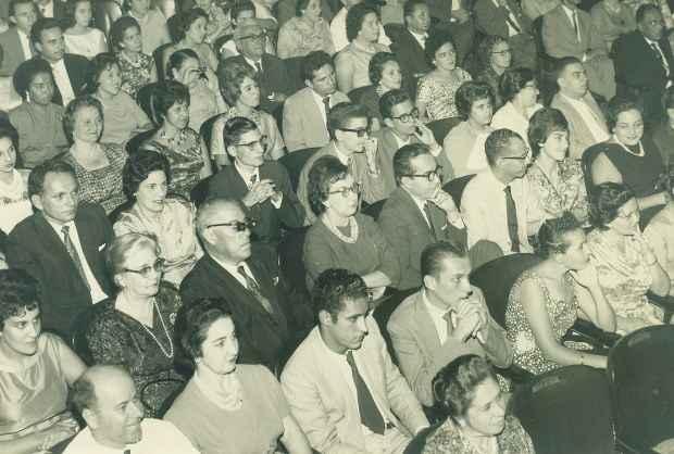 Plateia do Teatro Santa Isabel. Crédito: Arquivo/DP