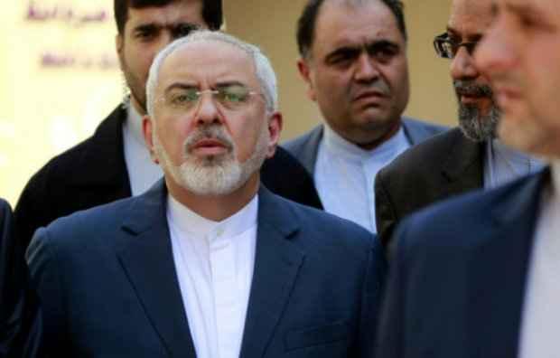 O ministro iraniano das Relações Exteriores, Mohammad Javad Zarif, em 27 de julho em Najaf. (Foto: Haidar Hamdani/AFP Photo)